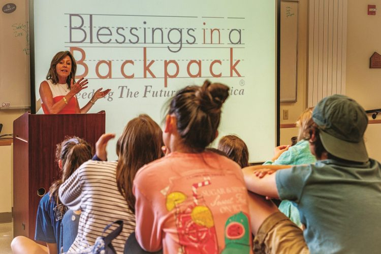 blessings in a backpack nancy kimball