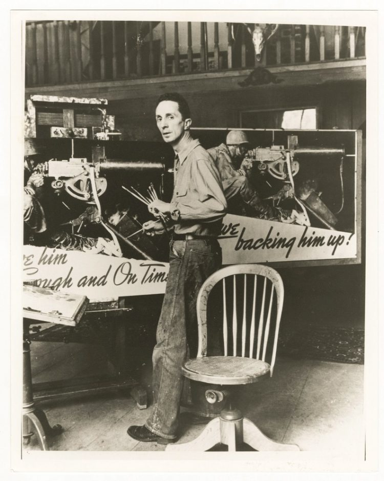 norman rockwell photograph