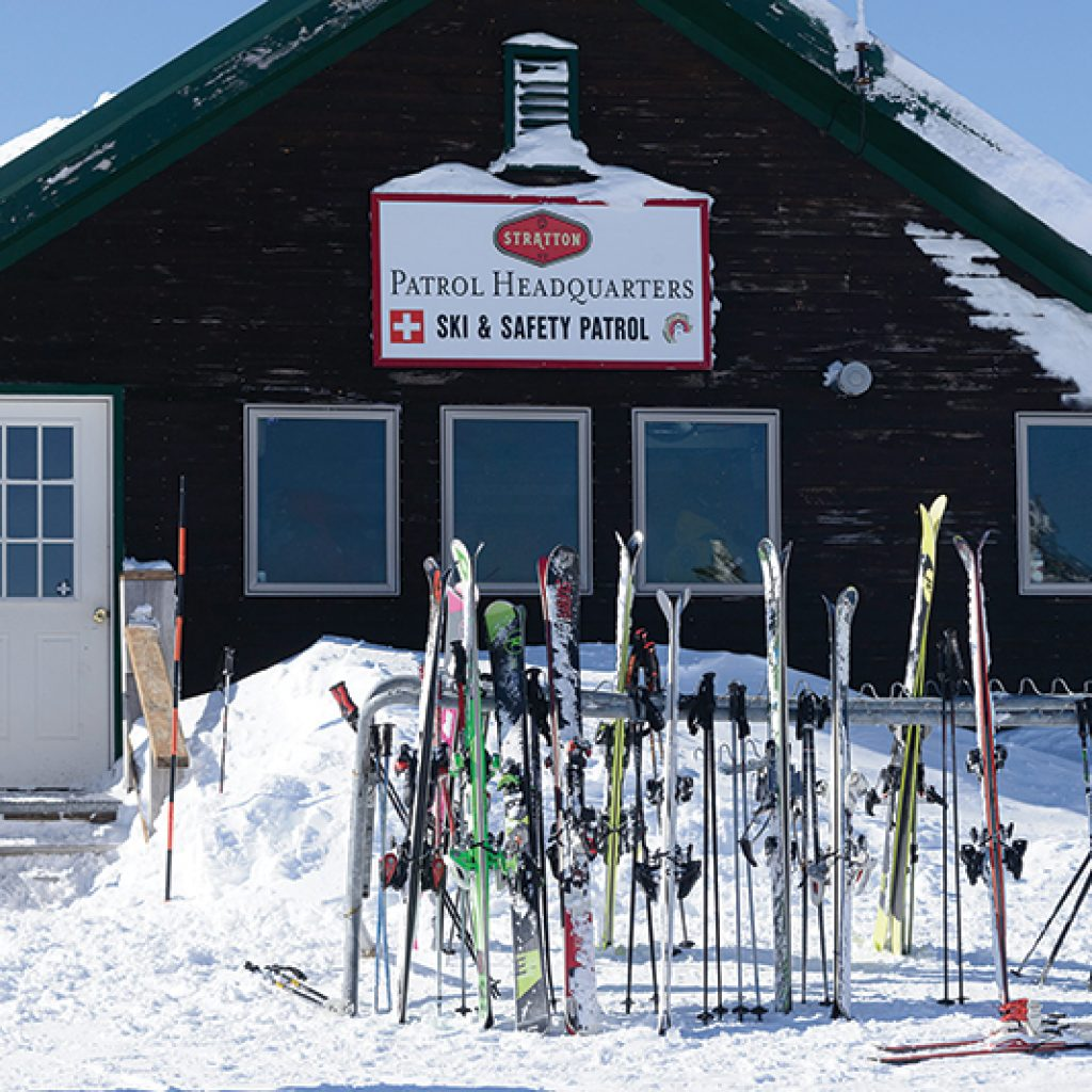 stratton mountain ski patrol building