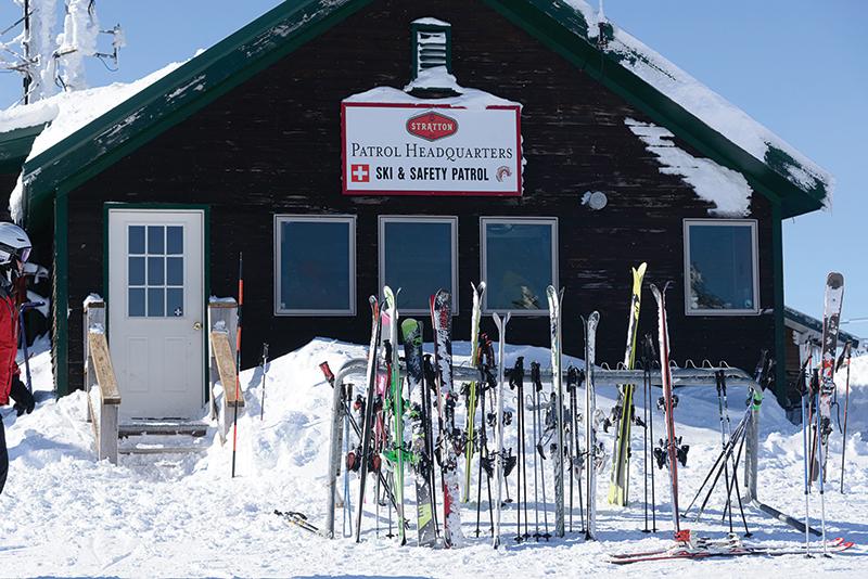 stratton mountain ski patrol building