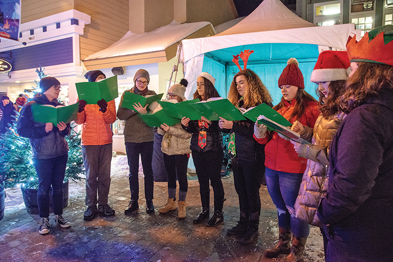 snowlight carolers