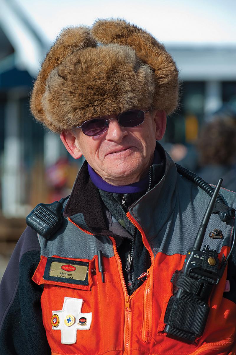 stratton ski patroller dick massucco