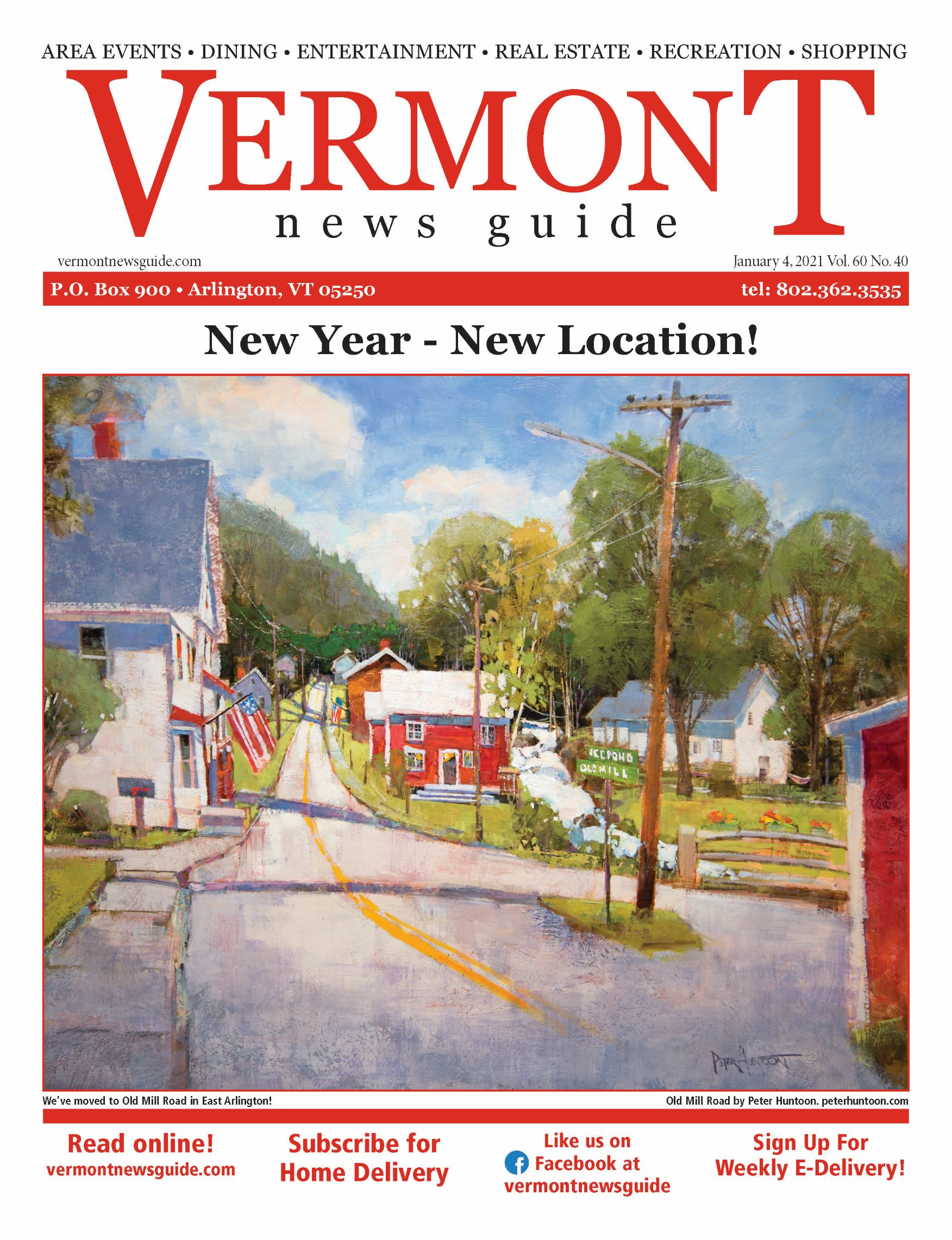 Vermont News Guide Cover
